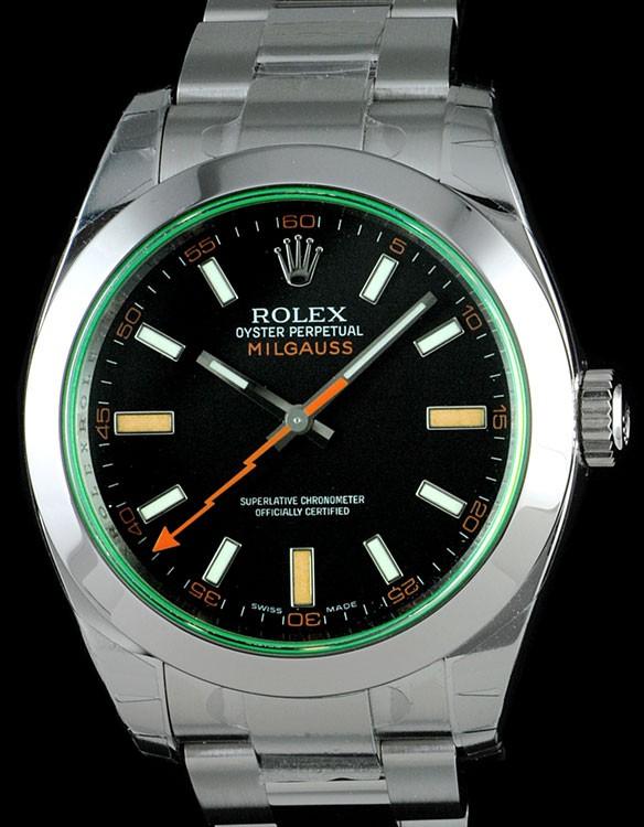 rolex milgauss anniversary. FS: Rolex Milgauss 116400