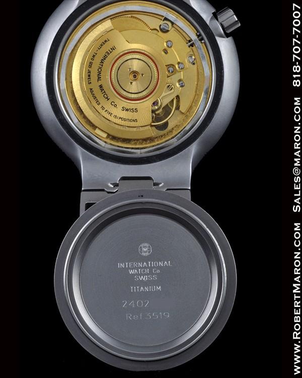Iwc Porsche Design Ocean 2000 Bund 3519 Amag 3755 Titanium