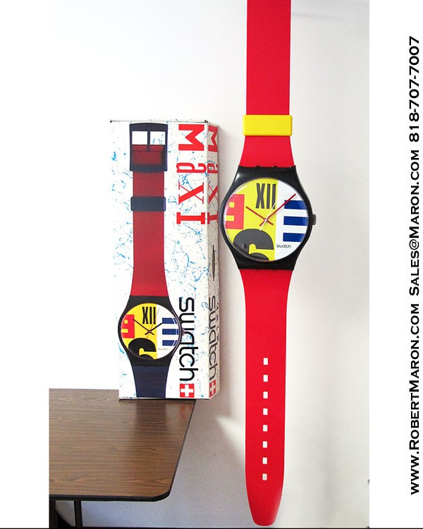 Swatch Watches From the 80s