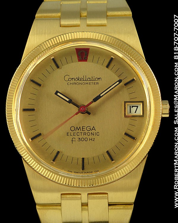 Omega Constellation Electronic 300hz 18k All Watches