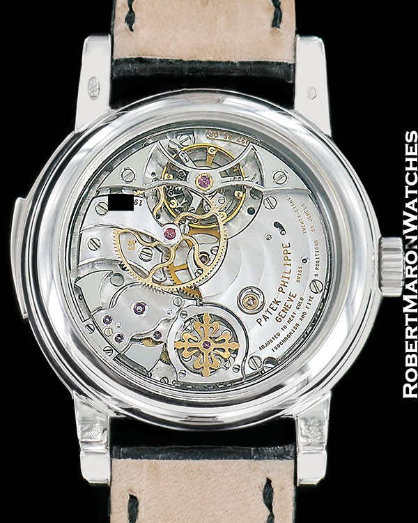 patek philippe 5016p platinum minute repeater tourbillon. Black Bedroom Furniture Sets. Home Design Ideas