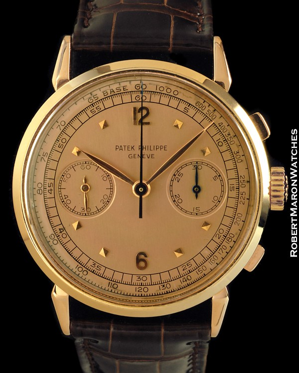 patek philippe 1579 chronograph 18k rose all watches. Black Bedroom Furniture Sets. Home Design Ideas