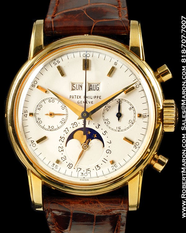patek philippe 2499 chronograph 18k all watches. Black Bedroom Furniture Sets. Home Design Ideas