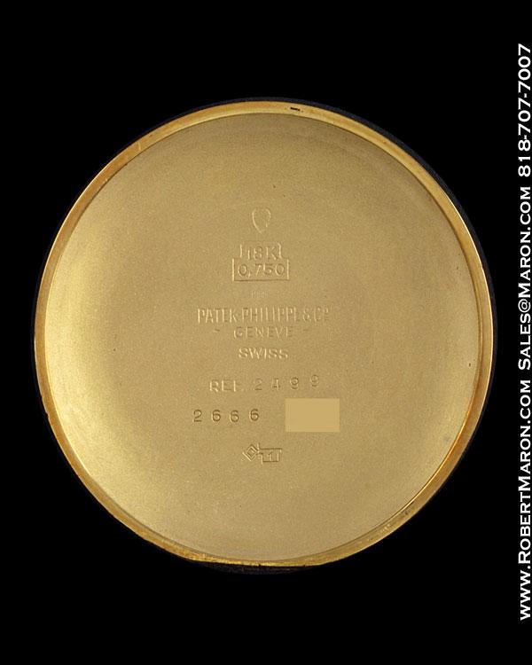 PATEK PHILIPPE 2499 CHRONOGRAPH 18K
