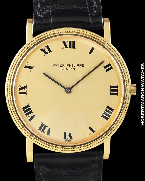 PATEK PHILIPPE 3520 D CALATRAVA 18K. Click to enlarge