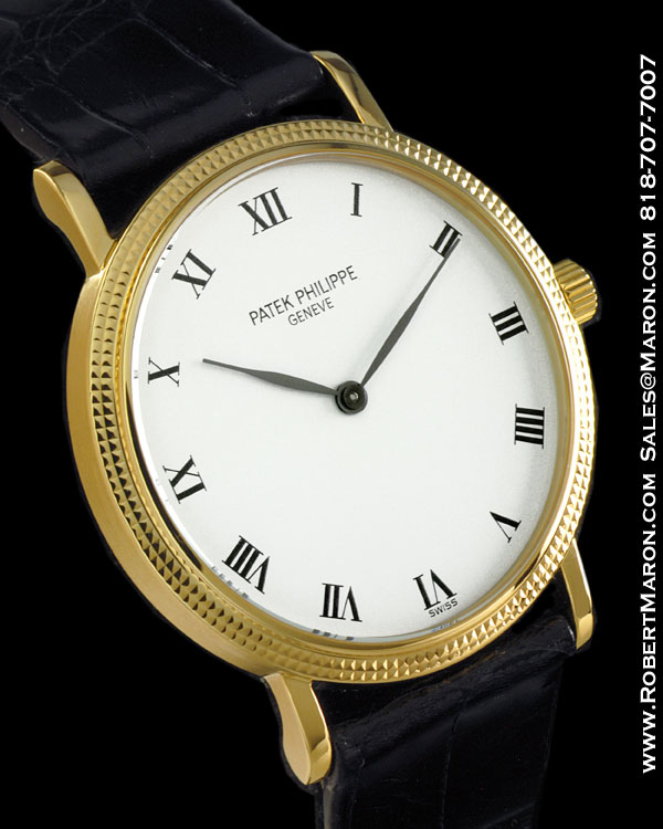 patek philippe 3992 j calatrava 18k all watches. Black Bedroom Furniture Sets. Home Design Ideas
