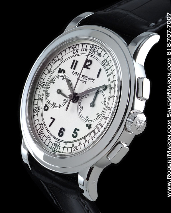 PATEK PHILIPPE 5070G CHRONOGRAPH 18K WHITE GOLD