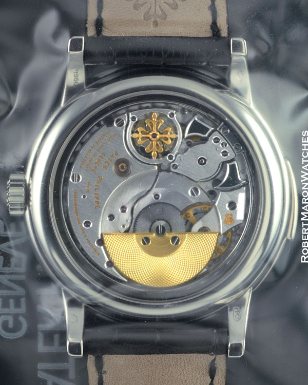 PATEK PHILIPPE 5078 P BLACK MINUTE REPEATER PLATINUM