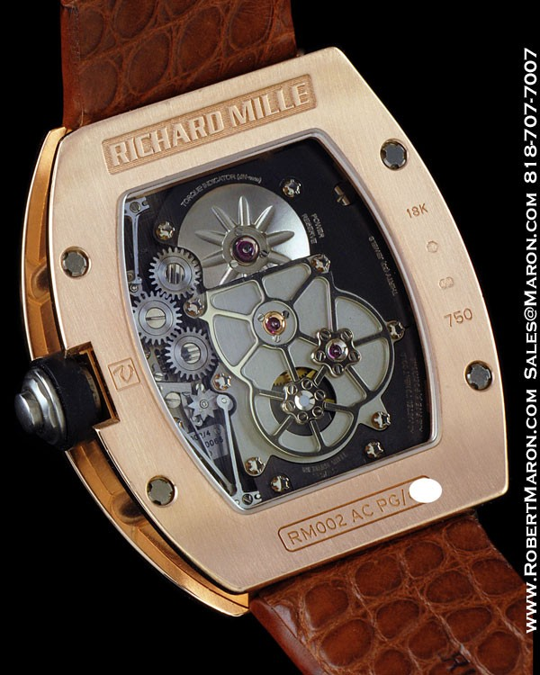 RICHARD MILLE 002 TOURBILLON 18K