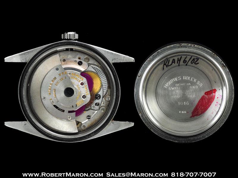 ROLEX EXPLORER 1016 STEEL GILT DIAL :: All Watches ...