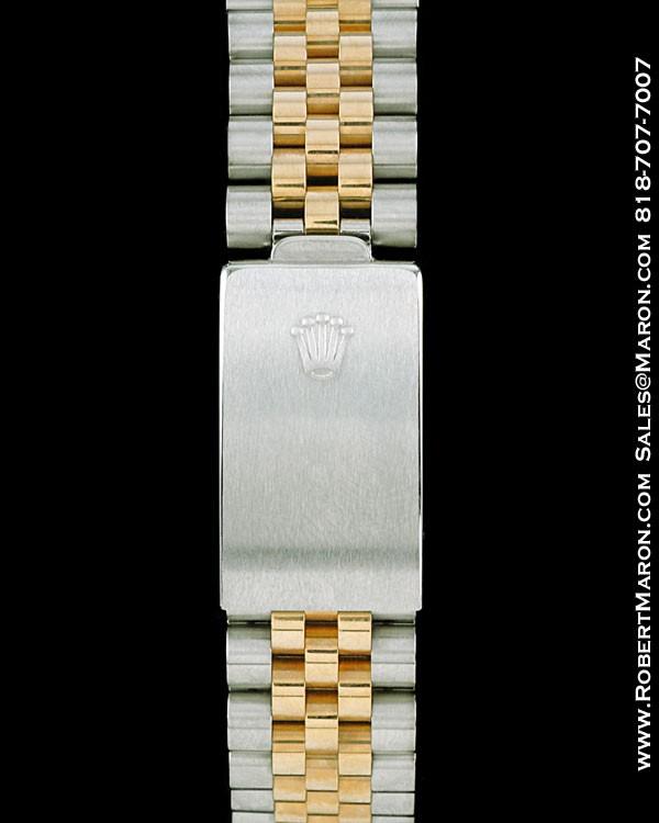ROLEX 16753 GMT MASTER 18K/STEEL