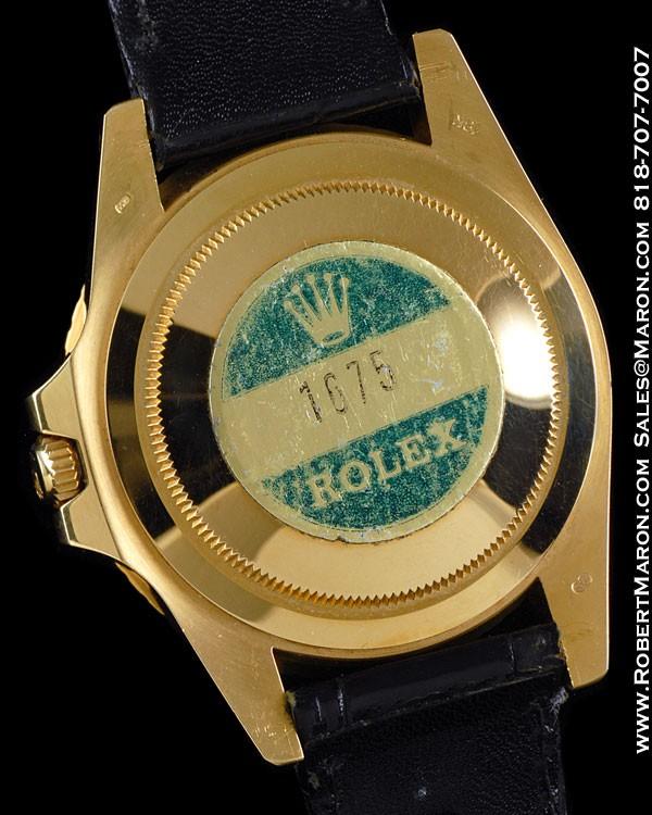ROLEX 1675 GMT 18K