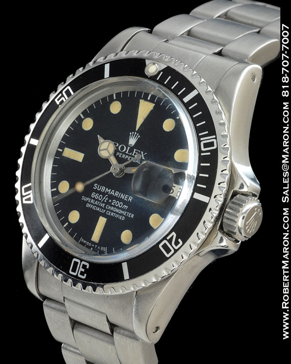 ROLEX 1680 SUBMARINER STEEL