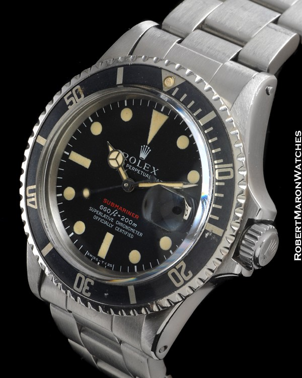 ROLEX 1680 SUBMARINER RED STEEL