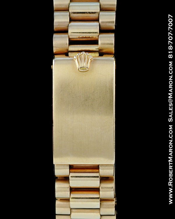 ROLEX 1803 DAY DATE PRESIDENT 18K ROSE