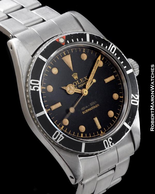 rolex 5508 submariner steel    all watches    robert maron