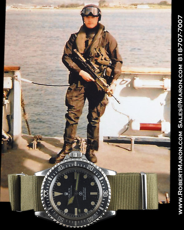 ROLEX 5513 SUBMARINER MILITARY STEEL