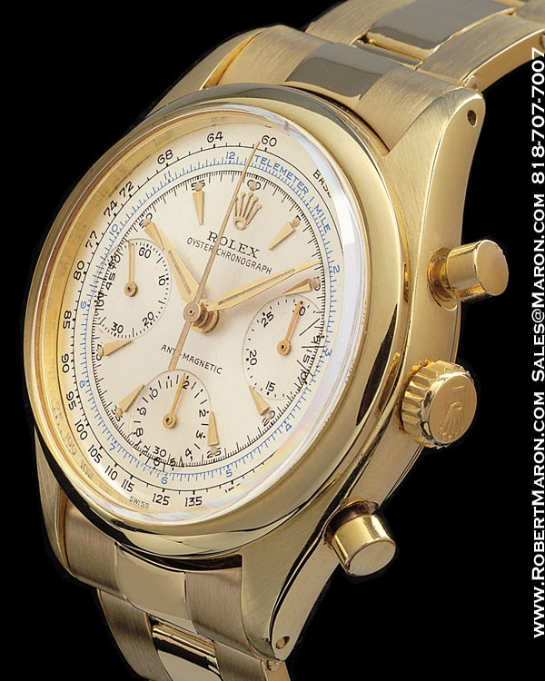 ROLEX 6234 CHRONOGRAPH ANTI-MAGNETIC 18K