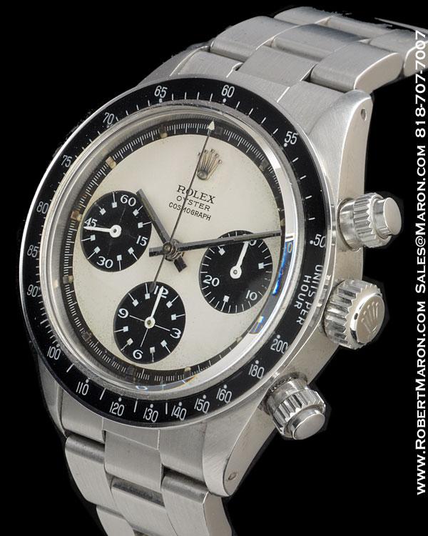 Vintage Tudor Watches >> ROLEX 6263 DAYTONA PAUL NEWMAN CHRONOGRAPH STEEL :: All Watches...