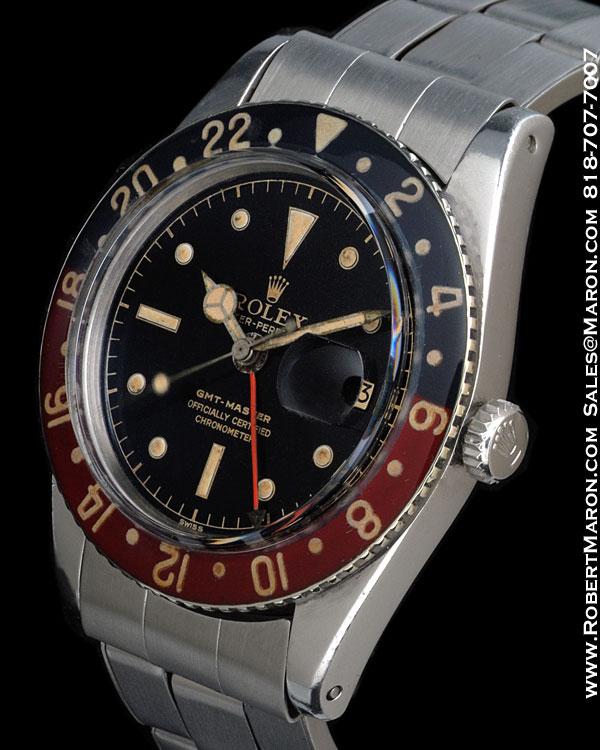 ROLEX 6542 GMT MASTER STEEL