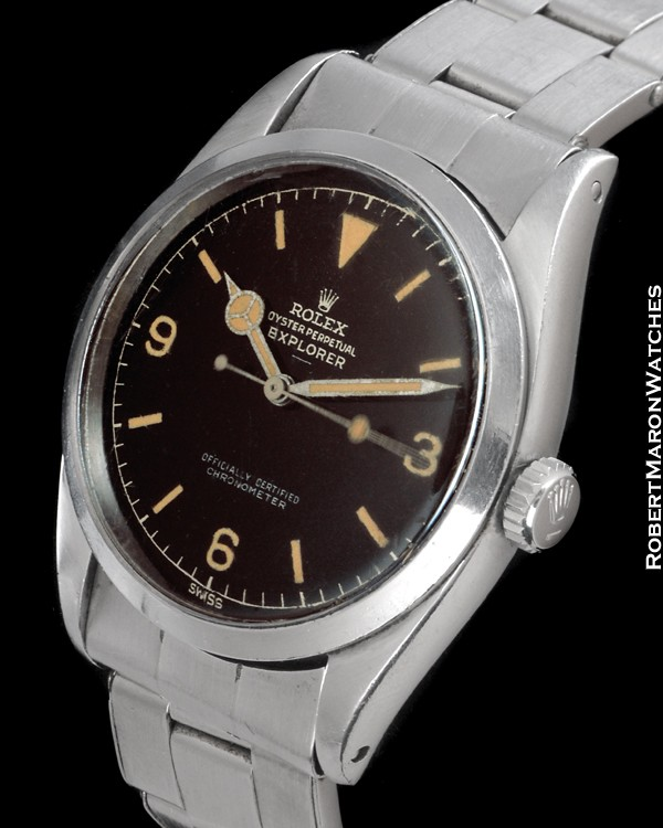 ROLEX EXPLORER 6610 UNDERLINE STEEL