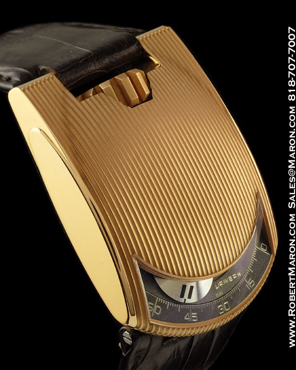 URWERK 103ER LIMITED EDITION 18K ROSE