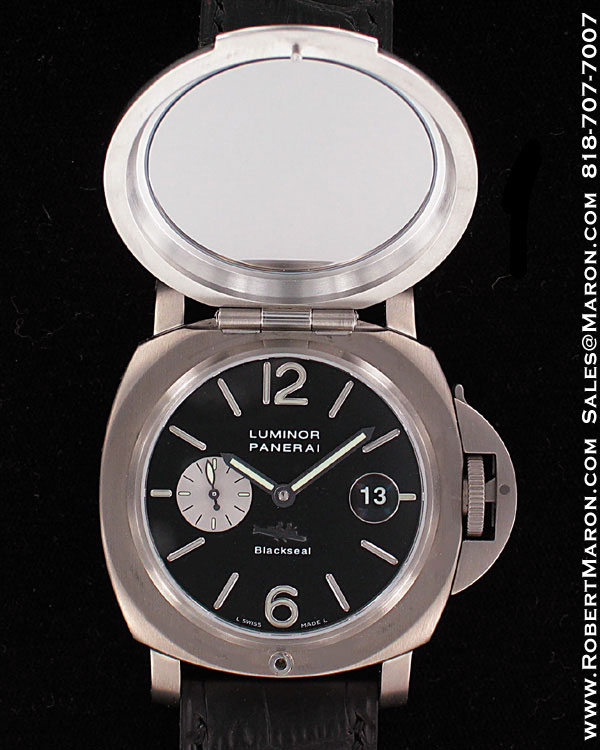PANERAI PAM 076 BLACK SEAL 2002 SPECIAL EDITION