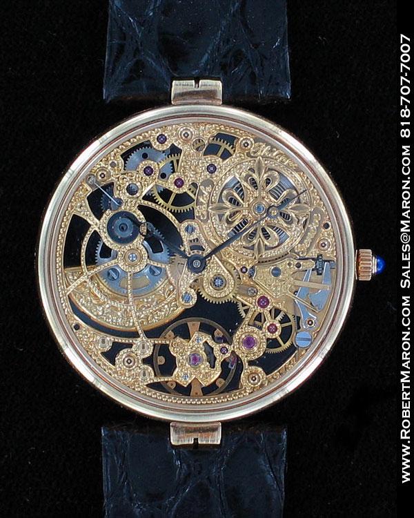 Patek philippe vintage skeleton 3878 all watches robert for Patek philippe skeleton