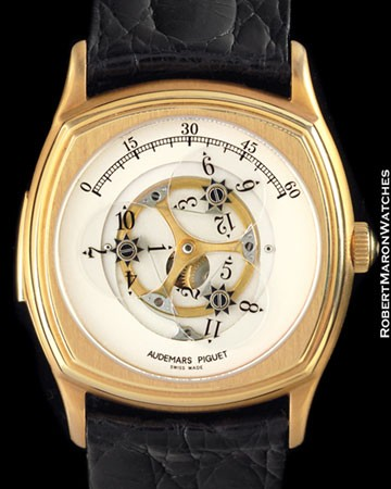 AUDEMARS PIGUET BA 25797 STAR WHEEL SKELETON MINUTE REPEATER 18K