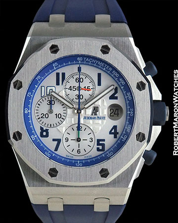 AUDEMARS PIGUET ROYAL OAK OFFSHORE SACHIN TENDULKAR CHRONOGRAPH LIMITED EDITION BOX & PAPERS