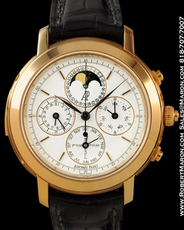 AUDEMARS PIGUET JULES AUDEMARS GRAND COMPLICATION 18K