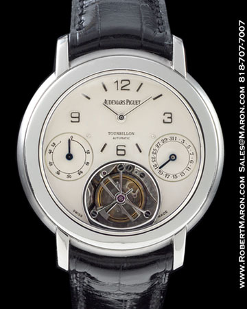 AUDEMARS PIGUET TOURBILLON AUTOMATIC PLATINUM