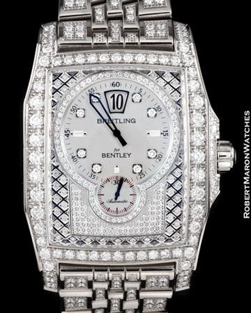 BREITLING FLYING B BENTLEY DIAMONDS 18K