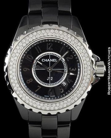 CHANEL J12 H0949 DIAMONDS CERAMIC