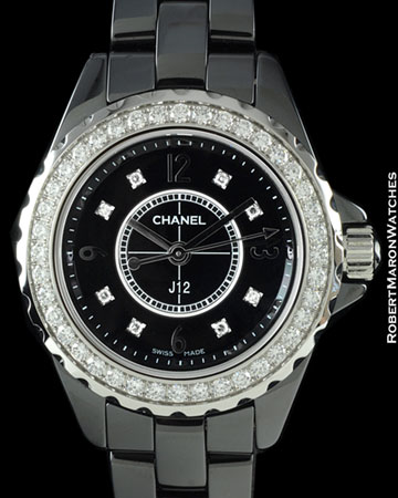 CHANEL J12 H2571 DIAMONDS CERAMIC