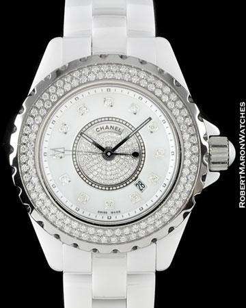 CHANEL J12 H2674 DIAMONDS CERAMIC