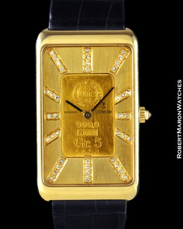 CORUM 44464 INGOT DIAMONDS 18K