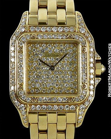 CARTIER PANTHER LADIES DIAMONDS 18K