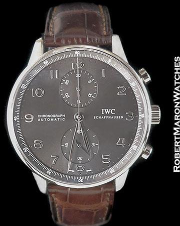 IWC PORTUGUESE AUTOMATIC CHRONOGRAPH 18K WHITE GOLD IW371431