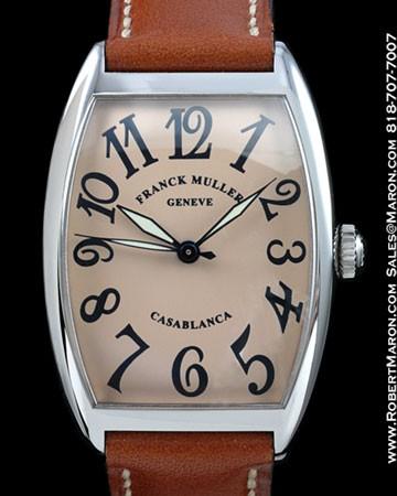 FRANCK MULLER 2852 CASABLANCA STEEL