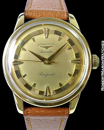 LONGUINES 9001 CONQUEST 18K YG AUTOMATIC