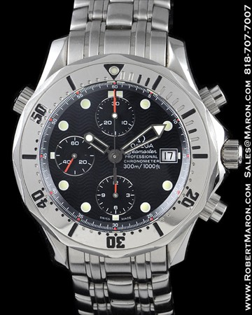 OMEGA SEAMASTER DIVERS CHRONOGRAPH STAINLESS STEEL