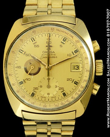 Omega Seamaster Chronograph Gold