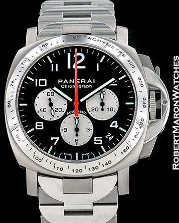 PANERAI for AMG AUTOMATIC LUMINOR CHRONOGRAPH PAM108 LIMITED EDITION