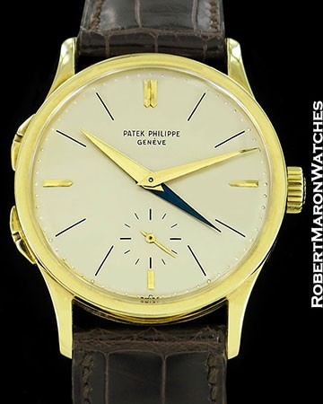 PATEK PHILIPPE 2597 HS HEURES SAUTANTES TWO TIME ZONE 18K CALATRAVA 1960