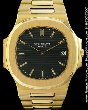 patek philippe nautilus 18k. Black Bedroom Furniture Sets. Home Design Ideas