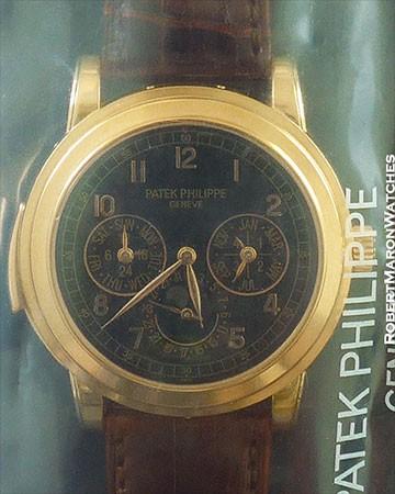 PATEK PHILIPPE 5074 R PERPETUAL CALENDAR MINUTE REPEATER 18K ROSE GOLD NEW