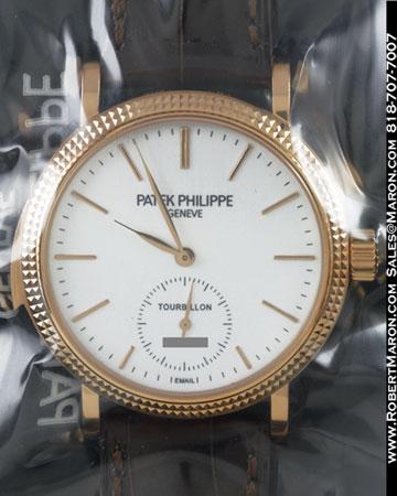PATEK PHILIPPE 5339 R MINUTE REPEATER TOURBILLON 18K ROSE
