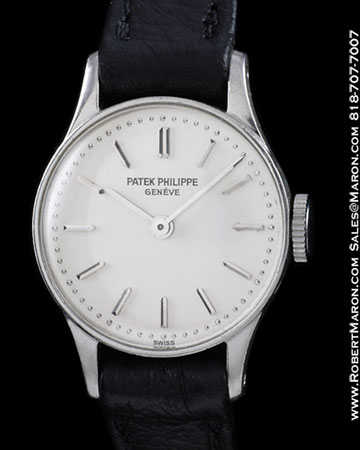 Patek philippe platinum watch