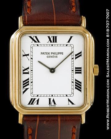 PATEK PHILIPPE 3859 RECTANGULAR 18K